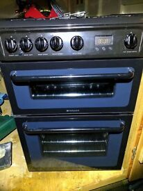 Hotpoint HAG60 Gas Cooker