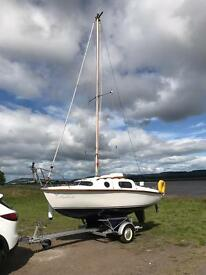 17ft Leisure Sailing Boat