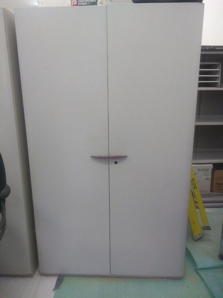 FREE 2x metal storage cupboards