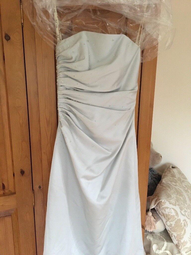 Light grey prom/bridesmaid dress | in Evesham, Worcestershire | Gumtree