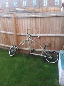 Low rider push bike