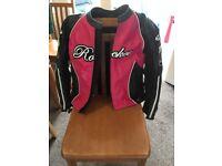 Ladies Joe Rocket Motorbike Jacket size M very good condition