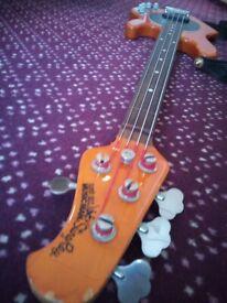 Musicman fretless bass