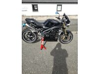 Triumph 1050cc speed triple