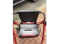 Rolator mobility walker