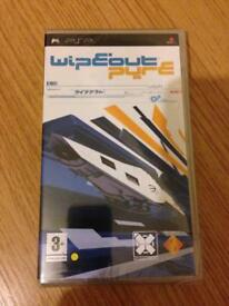 Wipeout pure PSP game