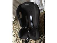 Mu child carseat black weight 0-18kg used good condition £12