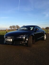 2007 Audi TT Black. Low Miles