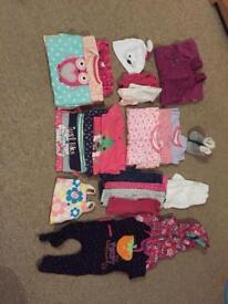 6-9 month girl clothing bundle