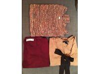 Bundle 3 Jumpers Size S - Mango, Pull & Bear, Zara