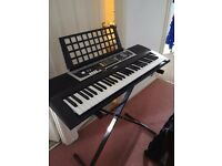 Keyboard and Stand mostly working condition £25