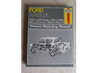 Haynes Manual - Ford Anglia 1959 to 1968
