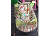 Fisher-Price Woodsy Friends Comfy Time Bouncer for sale