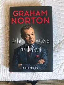 Graham Norton signed book