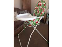 Mothercare High chair in excellent condition used for 2 months