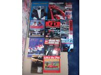 Formula 1 books 1998 to 2005 & bound early Formula 1 magazines - ideal gift for enthusiast