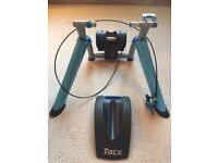 tacx booster ultra high power folding magnetic trainer - very good condition