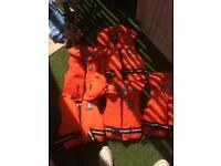 Sea float Crew saver buoyancy jackets