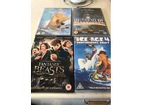 Brand new dvds