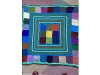 Hand crochet blanket/throw