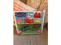 Peppa pig jigsaw and cat new in box