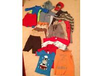 Boys 3-4 years bundle 2; 19 items