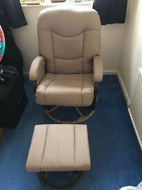 Nursing reclining Chair & Foot Stool
