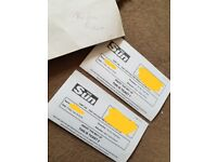 2 tickets for alton towers friday 20th july