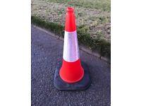 750mm red traffic cones (heavy duty)