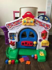 Fisher Price Laugh and Learn interactive door house toy