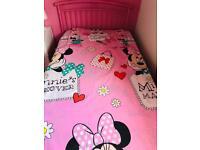 Minnie Mouse single duvet Set