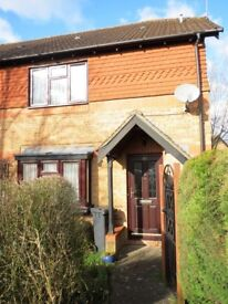 Unfurnished, one bedroom house in Tilehurst avail NOW. Off road parking, front and rear gardens.