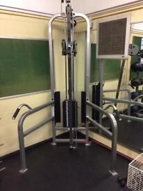 Life Fitness Pro Series Single Column Adjustable Pulley