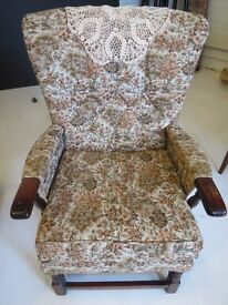 For Sale: Floral armchair