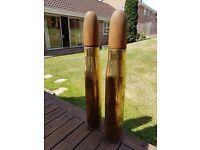 105 brass military shells