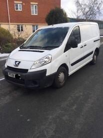 Peugeot Expert 1.6 2008 12 MONTHS MOT Not Fiat Scudo / Citroen Dispatch [ Cheap Van ]