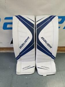 New Bauer Vapor X700 Senior Medium Ice Hockey Goalie Pads
