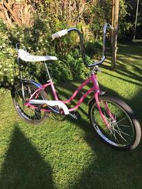 Vintage Schwinn fair lady chopper (lady's cruiser / low rider bike)