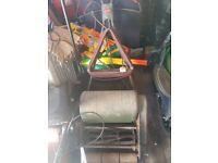 Webb electric lawnmower