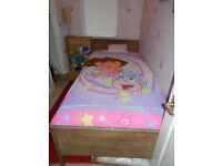 Vintage - Solid oak single bed