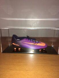 Geniune signed Harry Kane Football Boot