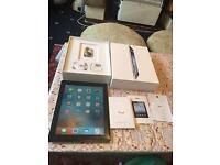 "Apple iPad 2 black wifi only 16GB bigger 9.7"" boxed bigger charger excellent condition no offers"