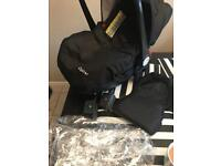 Babystyle oyster car seat and accessories