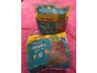 93 Pampers Baby-dry nappies Size 6+