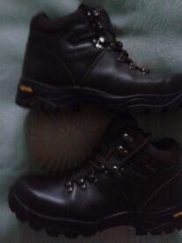 Ladies Peter Storm Tri-Tec Leather Walking Boots Size UK 7