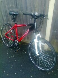 bike for sale -- disc brakes - -vgc - great offer !