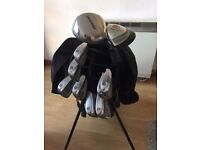 Ladies Golf Clubs - SW to 4 Iron, 3 and 5 wood plus bag