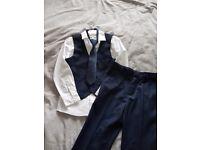 Boys Blue John Rocha suit
