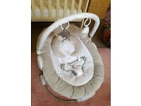 Baby bouncer Silver Cloud counting sheep