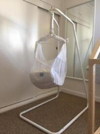 AMBY Baby Hammock, Natural Motion baby Bed in Great Condition.